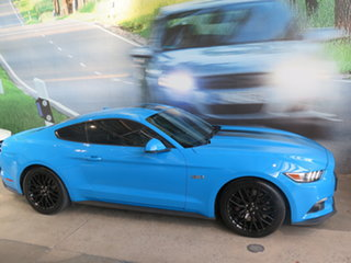 2017 Ford Mustang FM MY17 Fastback GT 5.0 V8 Grabber Blue 6 Speed Manual Coupe.
