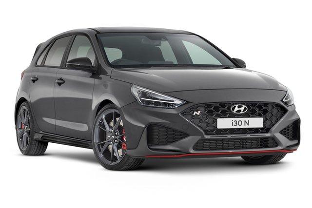 New Hyundai i30 Pde.v4 MY22 N Premium Geelong, 2021 Hyundai i30 Pde.v4 MY22 N Premium Shadow Grey 6 Speed Manual Hatchback