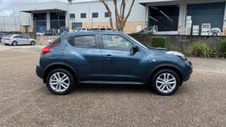 2013 Nissan Juke F15 ST (FWD) Blue Continuous Variable Wagon.