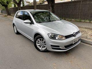 2016 Volkswagen Golf VII MY16 92TSI Trendline Silver 6 Speed Manual Hatchback.