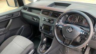 2017 Volkswagen Caddy 2K MY17 SWB Trendline TSI220 White 7 Speed Auto Direct Shift Wagon