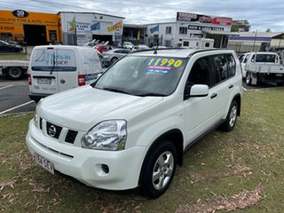 2009 Nissan X-Trail T31 MY10 ST White 1 Speed Constant Variable Wagon.