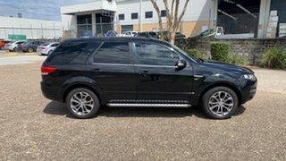 2011 Ford Territory SZ Titanium (4x4) Black 6 Speed Automatic Wagon.