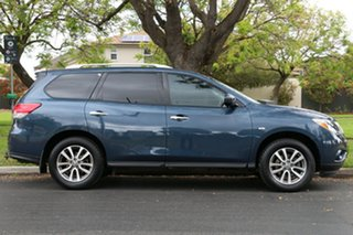 2014 Nissan Pathfinder R52 MY14 ST X-tronic 2WD Blue 1 Speed Constant Variable Wagon