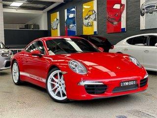 2013 Porsche 911 991 Carrera S Red Sports Automatic Dual Clutch Coupe.
