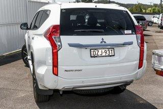 2018 Mitsubishi Pajero Sport QE MY18 GLS White 8 Speed Sports Automatic Wagon.