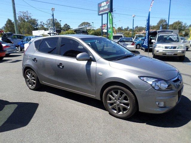 Used Hyundai i30 FD MY11 Trophy Capalaba, 2011 Hyundai i30 FD MY11 Trophy Grey 4 Speed Automatic Hatchback