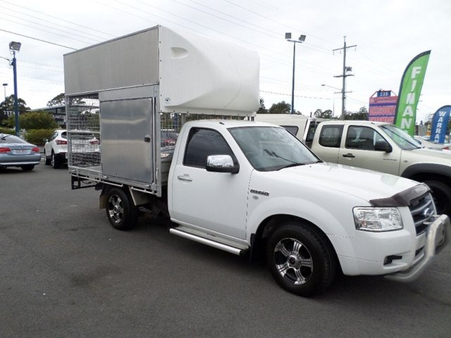 Used Ford Ranger Capalaba, 2007 Ford Ranger White Manual Utility