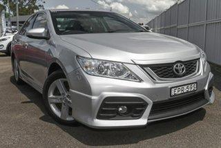 2014 Toyota Aurion GSV50R Sportivo SX6 Silver 6 Speed Sports Automatic Sedan.