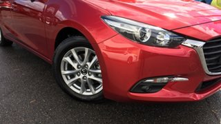 2018 Mazda 3 BN5476 Touring SKYACTIV-MT Red 6 Speed Manual Hatchback.