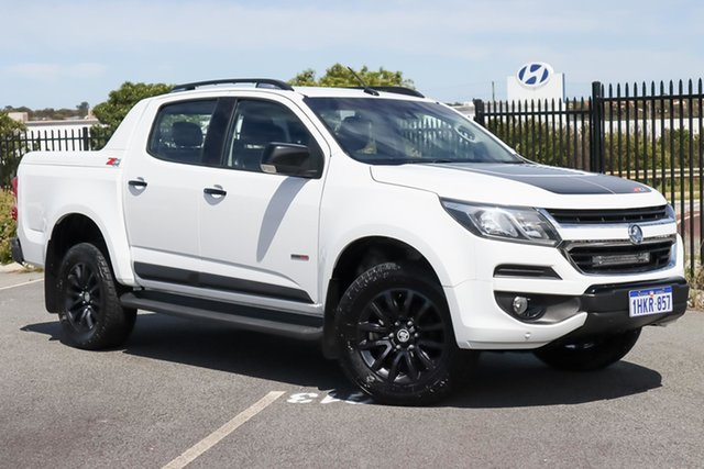 Used Holden Colorado RG MY18 Z71 Pickup Crew Cab Wangara, 2017 Holden Colorado RG MY18 Z71 Pickup Crew Cab White 6 Speed Sports Automatic Utility