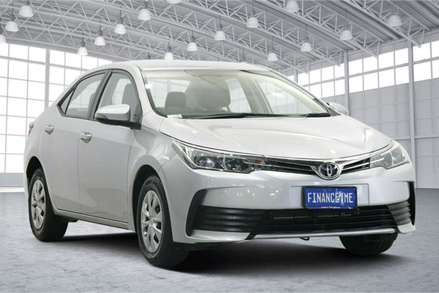 Used Toyota Corolla ZRE172R Ascent S-CVT Victoria Park, 2019 Toyota Corolla ZRE172R Ascent S-CVT Silver 7 Speed Constant Variable Sedan