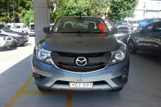 2016 Mazda BT-50 UR0YG1 XT Freestyle 4x2 Hi-Rider Blue 6 Speed Sports Automatic Cab Chassis.