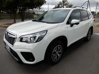 2018 Subaru Forester S5 MY19 2.5i-L CVT AWD White 7 Speed Constant Variable Wagon.