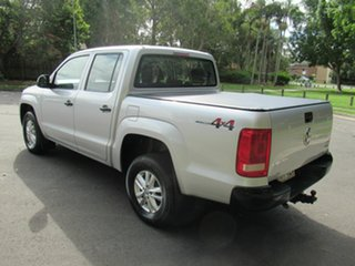 2017 Volkswagen Amarok 2H MY17 TDI420 4MOTION Perm Core Silver 8 Speed Automatic Cab Chassis