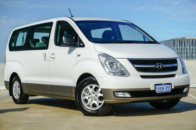 Used Hyundai iMAX TQ-W MY15 Osborne Park, 2015 Hyundai iMAX TQ-W MY15 White 4 Speed Automatic Wagon