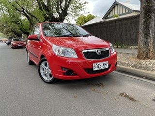 2009 Holden Barina TK MY09 Red 5 Speed Manual Hatchback.