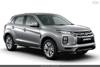 2021 Mitsubishi ASX XD MY21 ES Plus (2WD) Sterling Silver Continuous Variable Wagon.
