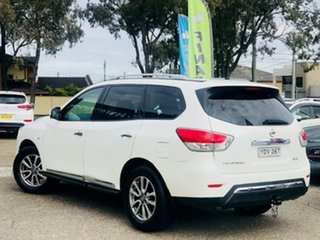 2016 Nissan Pathfinder R52 MY16 ST-L X-tronic 2WD White 1 Speed Constant Variable Wagon.