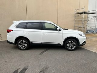 2020 Mitsubishi Outlander ZL MY21 LS AWD White 6 Speed Constant Variable Wagon.
