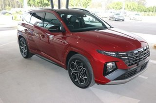 2021 Hyundai Tucson NX4.V1 MY22 Highlander D-CT AWD N Line Crimson Red 7 Speed.