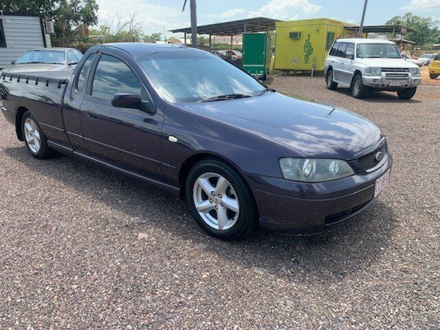 Used Ford Falcon BA Pinelands, 2005 Ford Falcon BA Purple 4 Speed Auto Active Select Utility