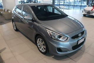 2019 Hyundai Accent RB6 MY19 Sport Silver 6 Speed Sports Automatic Hatchback.