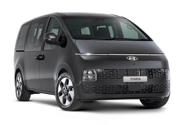 New Hyundai Staria US4.V1 MY22 Elite AWD Geelong, 2021 Hyundai IMAX/STARIA US4.V1 MY22 Elite AWD Graphite Gray 8 Speed Automatic Wagon