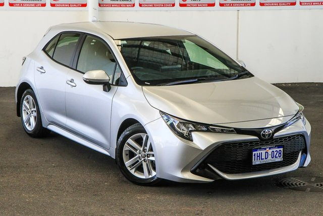 Pre-Owned Toyota Corolla Mzea12R Ascent Sport Rockingham, 2019 Toyota Corolla Mzea12R Ascent Sport Silver Pearl 10 Speed Constant Variable Hatchback