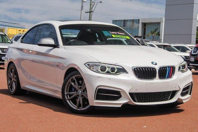 Used BMW 2 Series F22 M240I Osborne Park, 2017 BMW 2 Series F22 M240I White 8 Speed Sports Automatic Coupe