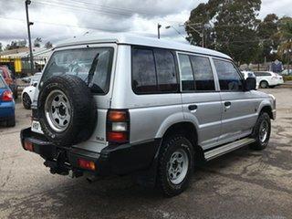 1993 Mitsubishi Pajero NH GLX Silver 5 Speed Manual Wagon.