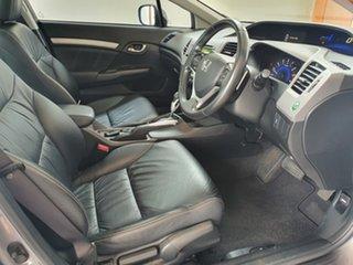 2012 Honda Civic 9th Gen Sport Silver 5 Speed Sports Automatic Sedan.
