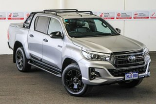 2019 Toyota Hilux GUN126R Rogue Double Cab Silver Sky 6 Speed Sports Automatic Utility.