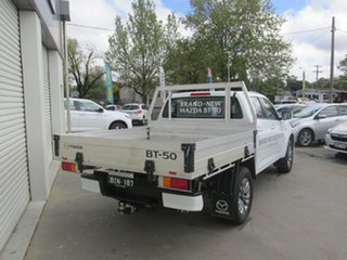 2020 Mazda BT-50 TFS40J XT White 6 Speed Manual Cab Chassis