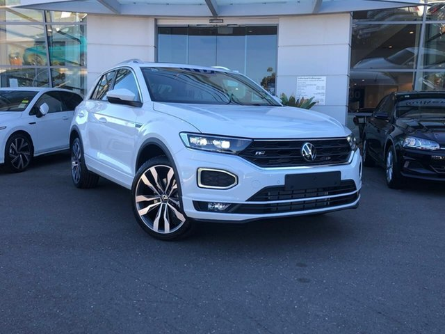 Demo Volkswagen T-ROC A1 MY21 140TSI DSG 4MOTION Sport Sutherland, 2021 Volkswagen T-ROC A1 MY21 140TSI DSG 4MOTION Sport Pure White 7 Speed