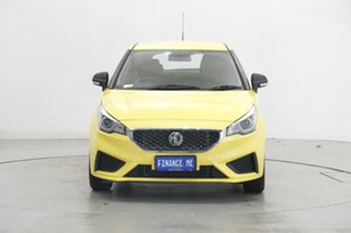 2021 MG MG3 SZP1 MY21 Core Tudor Yellow 4 Speed Automatic Hatchback.