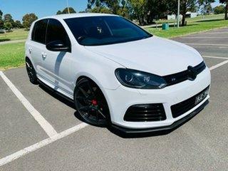 2011 Volkswagen Golf 1K MY12 R White 6 Speed Direct Shift Hatchback.