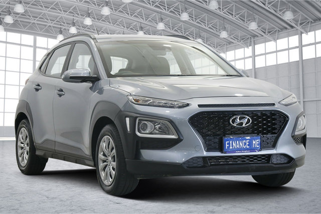 Used Hyundai Kona OS.2 MY19 Go 2WD Victoria Park, 2019 Hyundai Kona OS.2 MY19 Go 2WD Silver 6 Speed Sports Automatic Wagon