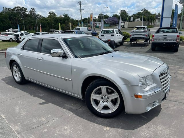 Used Chrysler 300C MY2010 Gympie, 2009 Chrysler 300C MY2010 Silver 5 Speed Sports Automatic Sedan