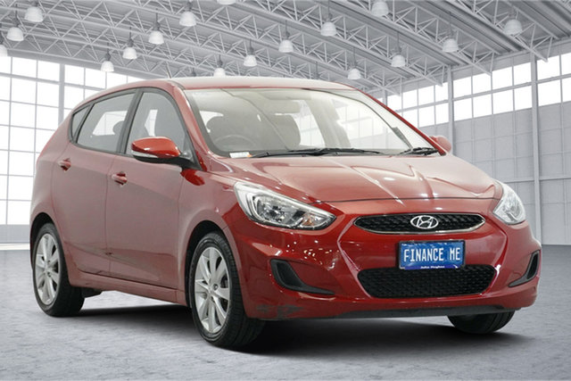 Used Hyundai Accent RB6 MY18 Sport Victoria Park, 2018 Hyundai Accent RB6 MY18 Sport Red 6 Speed Sports Automatic Hatchback