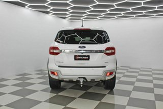 2018 Ford Everest UA MY18 Trend (4WD) (5 Yr) White 6 Speed Automatic SUV