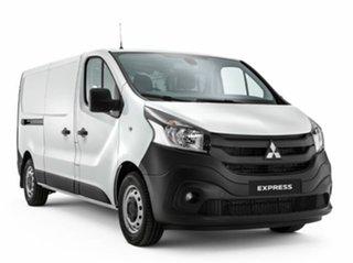 2021 Mitsubishi Express SN MY22 GLX LWB DCT White 6 Speed Sports Automatic Dual Clutch Van