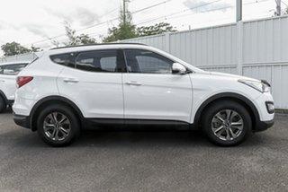 2014 Hyundai Santa Fe DM MY14 Active White 6 Speed Sports Automatic Wagon.
