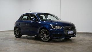 2017 Audi A1 8X MY17 Sportback S Tronic Scuba Blue 7 Speed Sports Automatic Dual Clutch Hatchback.