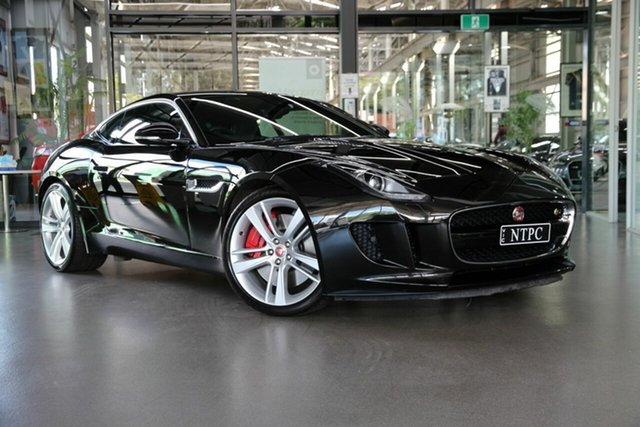 Used Jaguar F-TYPE X152 MY17 Coupe S North Melbourne, 2016 Jaguar F-TYPE X152 MY17 Coupe S Black 8 Speed Sports Automatic Coupe