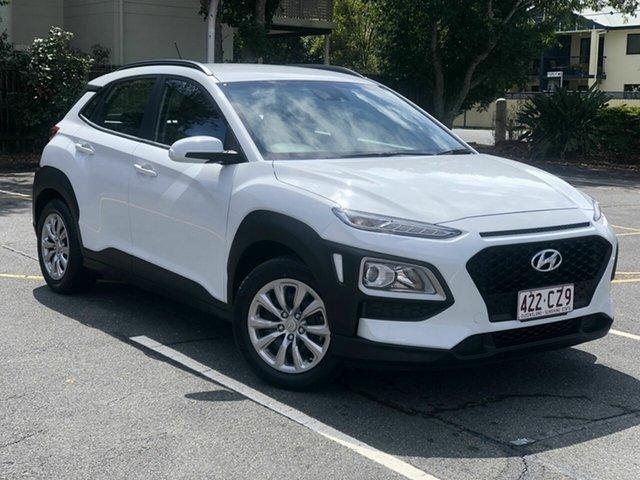 Used Hyundai Kona OS.3 MY20 Go 2WD Chermside, 2019 Hyundai Kona OS.3 MY20 Go 2WD White 6 Speed Sports Automatic Wagon