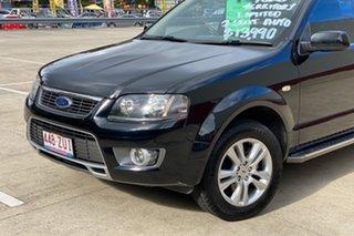 2011 Ford Territory SY MkII TS Limited Edition (RWD) Black 4 Speed Auto Seq Sportshift Wagon.