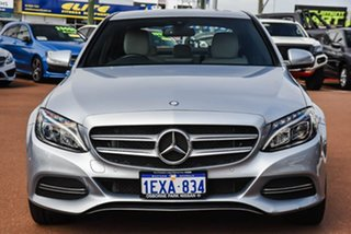 2015 Mercedes-Benz C-Class W205 C200 7G-Tronic + Silver Or Chrome/bone 7 Speed Sports Automatic