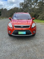 2012 Ford Kuga TE Trend AWD Orange 5 Speed Sports Automatic Wagon
