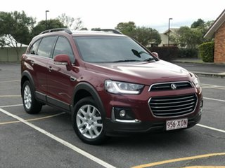 2017 Holden Captiva CG MY18 Active 2WD Red 6 Speed Sports Automatic Wagon.